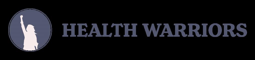 Health Warrior Dark Long Logo